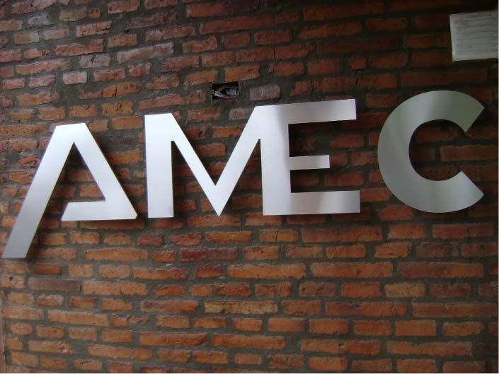 Carteles corpóreos – AMEC – OSECAC – El Bolsón – Provincia de Río Negro - RA Carteles