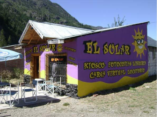 Muros Pintados - El Solar - Lago Puelo - Provincia del Chubut - RA Carteles