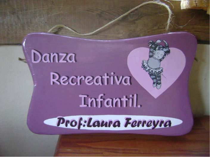 Carteles Pintados - Danza Recreativa Infantil - El Bolsón - Provincia de Río Negro - RA Carteles