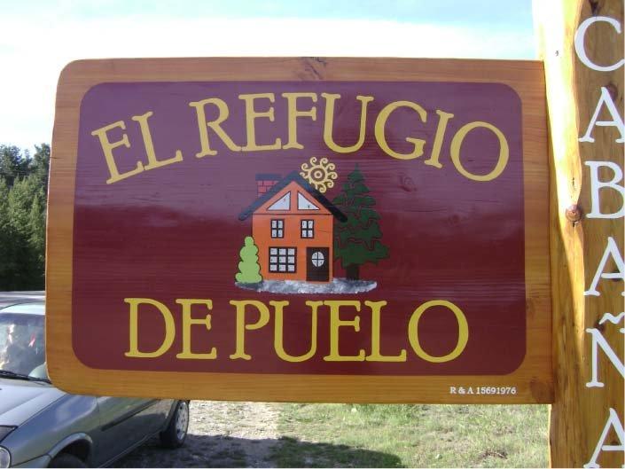 Cartel Pintado – El Refugio de Puelo – Lago Puelo – Provincia del Chubut - RA Carteles