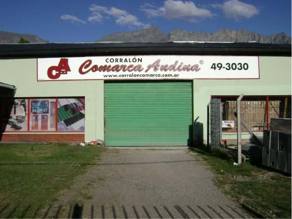 Carteles Pintados - Corralón Comarca Andina - El Bolsón - Provincia de Río Negro - RA Carteles