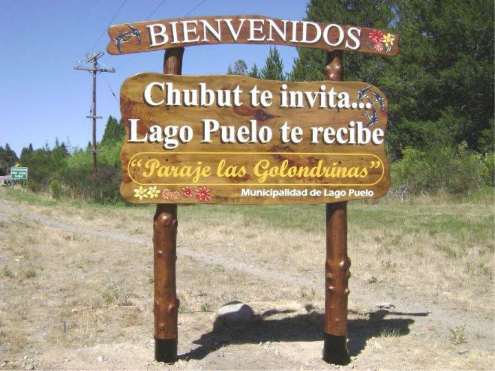 Carteles Pintados - Municipalidad de Lago Puelo - Lago Puelo - Provincia del Chubut - RA Carteles
