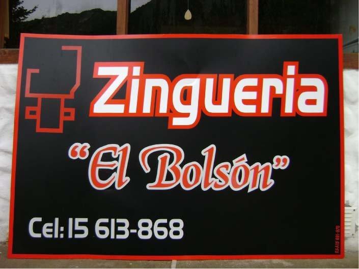 Ploteados - Zinguería El Bolsón - El Bolsón - Provincia de Río Negro - RA Carteles