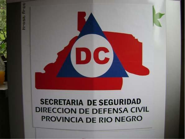 Ploteados - Defensa Civil - El Bolsón - Provincia de Río Negro - RA Carteles
