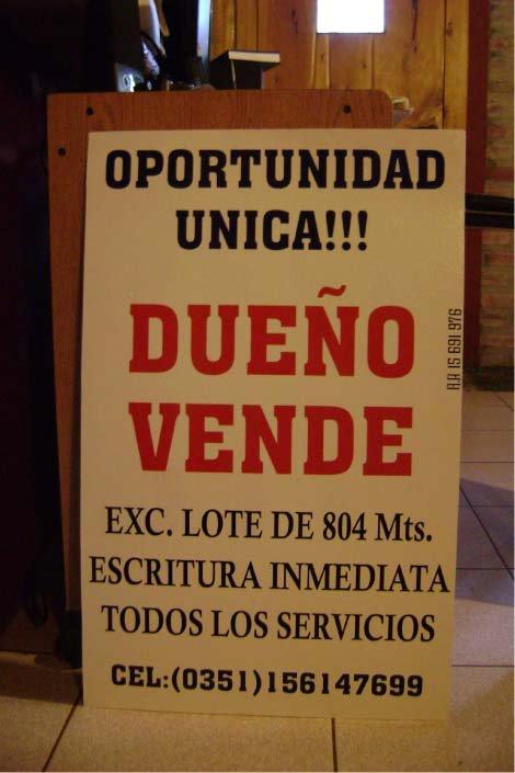 Ploteados - Carteles Inmobiliarios - Lago Puelo - Provincia del Chubut - RA Carteles