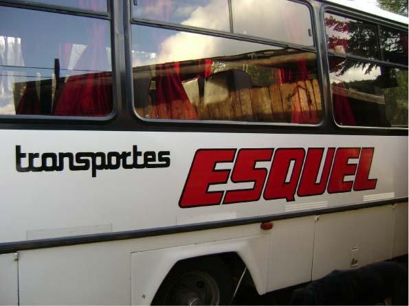 Vehículos - Transporte Esquel - Esquel - Provincia del Chubut - RA Carteles