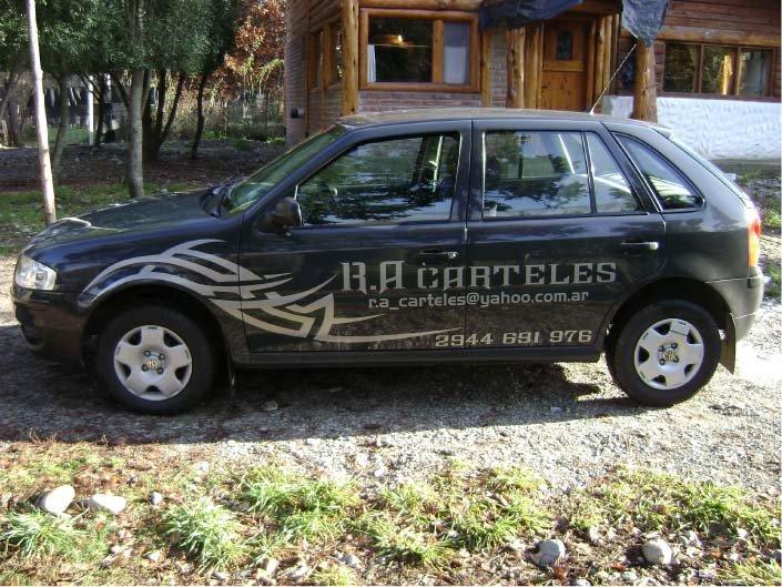Vehículos - RA Carteles - Lago Puelo - Provincia del Chubut - RA Carteles