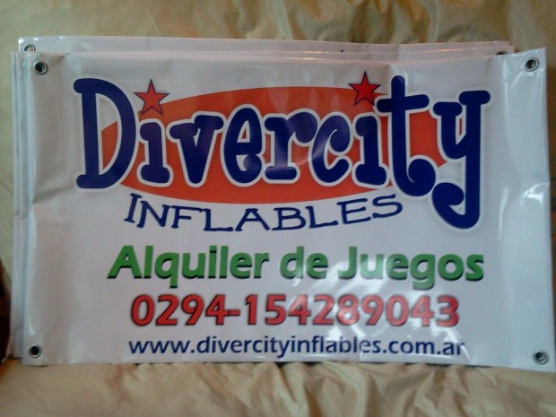 Impresiones - Divercity Inflables - Lago Puelo - Provincia del Chubut - RA Carteles