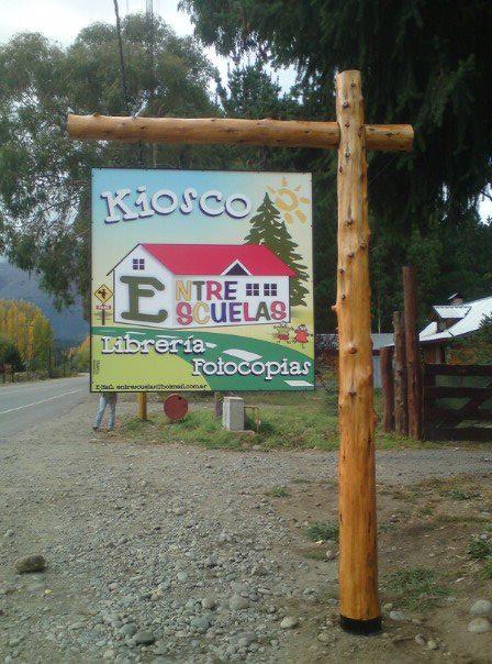 Impresiones - Kiosko Entre Escuelas - Lago Puelo - Provincia del Chubut - RA Carteles