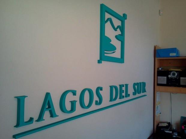 Carteles corpóreos – Lagos del Sur - R.A Carteles