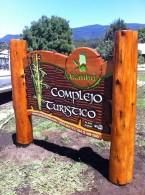 Carteles Tallados – Complejo Turístico Bambú - R.A Carteles