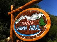 Carteles Tallados - Cabañas Laguna Azul - R.A Carteles