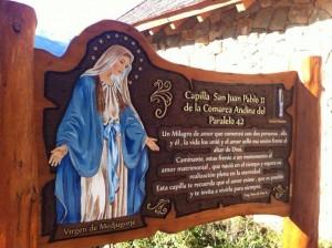 Tallados - Capilla Juan Pablo II
