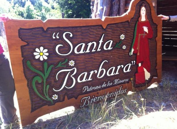 Tallados - Santa Barbara