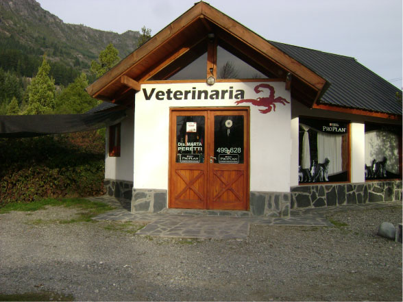 Muros Pintados - Veterinaria Escorpio - Lago Puelo - Provincia del Chubut - RA Carteles